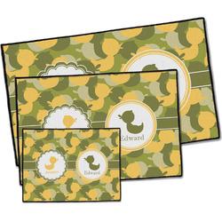 Rubber Duckie Camo Door Mat (Personalized)