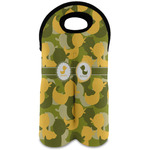 Rubber Duckie Camo Wine Tote Bag (2 Bottles) (Personalized)
