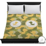 Rubber Duckie Camo Duvet Cover (Personalized)