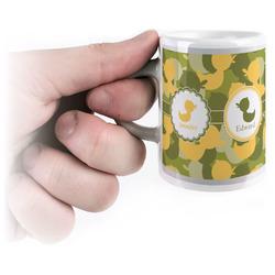 Rubber Duckie Camo Espresso Mug - 3 oz (Personalized)