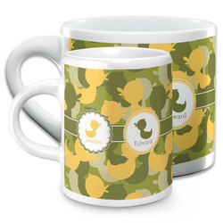 Rubber Duckie Camo Espresso Cups (Personalized)