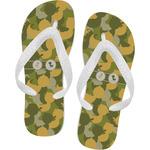 Rubber Duckie Camo Flip Flops (Personalized)