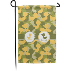 Rubber Duckie Camo Garden Flag - Single or Double Sided (Personalized)