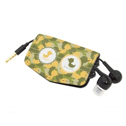 Rubber Duckie Camo Genuine Leather Cord Wrap (Personalized)
