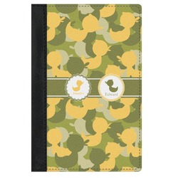 Rubber Duckie Camo Genuine Leather Passport Cover (Personalized)