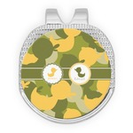 Rubber Duckie Camo Golf Ball Marker - Hat Clip