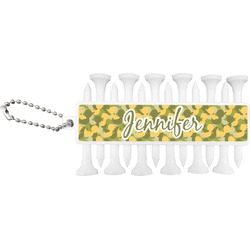Rubber Duckie Camo Golf Tees & Ball Markers Set (Personalized)