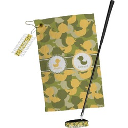 Rubber Duckie Camo Golf Towel Gift Set (Personalized)