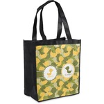 Rubber Duckie Camo Grocery Bag (Personalized)