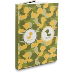 Rubber Duckie Camo Hardbound Journal (Personalized)