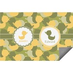 Rubber Duckie Camo Indoor / Outdoor Rug (Personalized)