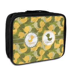 Rubber Duckie Camo Insulated Lunch Bag (Personalized)