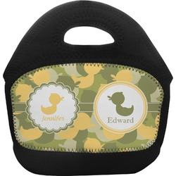 Rubber Duckie Camo Toddler Lunch Tote (Personalized)