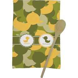 Rubber Duckie Camo Kitchen Towel - Full Print (Personalized)