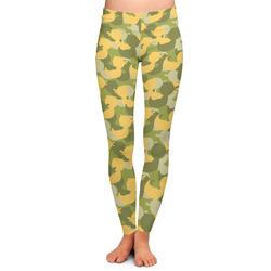 Rubber Duckie Camo Ladies Leggings (Personalized)