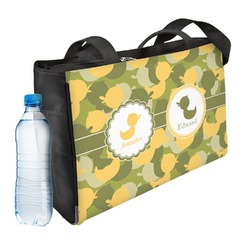 Rubber Duckie Camo Ladies Workout Bag (Personalized)