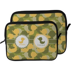 Rubber Duckie Camo Laptop Sleeve / Case (Personalized)