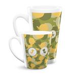 Rubber Duckie Camo Latte Mug (Personalized)