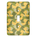 Rubber Duckie Camo Light Switch Covers (Personalized)