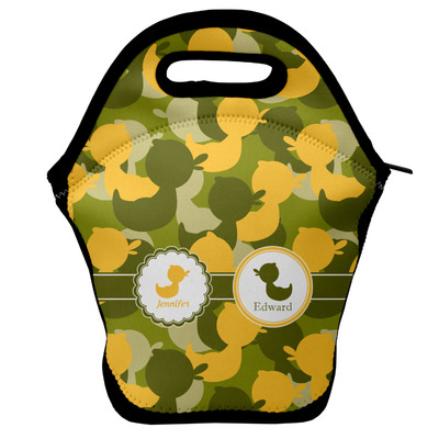 Rubber Duckie Camo Lunch Bag w/ Multiple Names