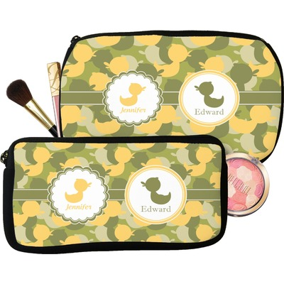 Rubber Duckie Camo Makeup / Cosmetic Bag (Personalized)