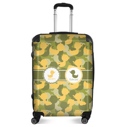 """Rubber Duckie Camo Suitcase - 24""""Medium - Checked (Personalized)"""