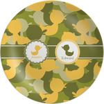 Rubber Duckie Camo Melamine Plate - 8