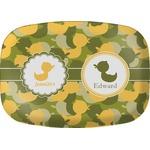 Rubber Duckie Camo Melamine Platter (Personalized)