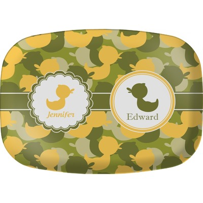 Rubber Duckie Camo Melamine Platter (Personalized)