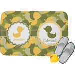 Rubber Duckie Camo Memory Foam Bath Mat (Personalized)