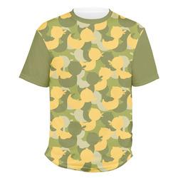 Rubber Duckie Camo Men's Crew T-Shirt (Personalized)