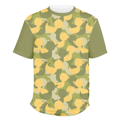 Rubber Duckie Camo Men's Crew T-Shirt (Personalized)