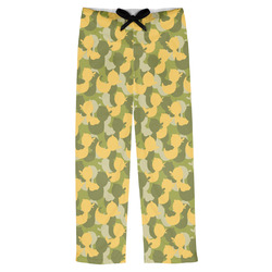 Rubber Duckie Camo Mens Pajama Pants (Personalized)