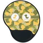 Rubber Duckie Camo Mouse Pad with Wrist Support