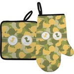 Rubber Duckie Camo Oven Mitt & Pot Holder (Personalized)