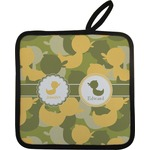Rubber Duckie Camo Pot Holder (Personalized)