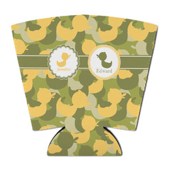 Rubber Duckie Camo Party Cup Sleeve (Personalized)