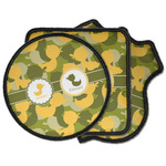 Rubber Duckie Camo Iron on Patches (Personalized)