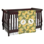 Rubber Duckie Camo Baby Blanket (Personalized)