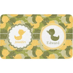 Rubber Duckie Camo Bath Mat (Personalized)