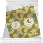 Rubber Duckie Camo Blanket (Personalized)