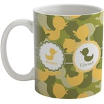 Rubber Duckie Camo Coffee Mug (Personalized)
