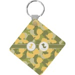Rubber Duckie Camo Diamond Key Chain (Personalized)