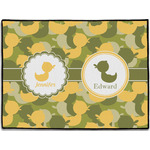 Rubber Duckie Camo Door Mat (Personalized)