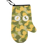 Rubber Duckie Camo Right Oven Mitt (Personalized)