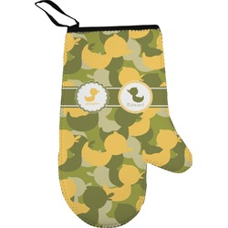 Rubber Duckie Camo Oven Mitt (Personalized)