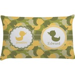 Rubber Duckie Camo Pillow Case (Personalized)