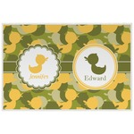 Rubber Duckie Camo Placemat (Laminated) (Personalized)