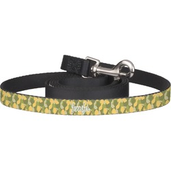 Rubber Duckie Camo Dog Leash (Personalized)