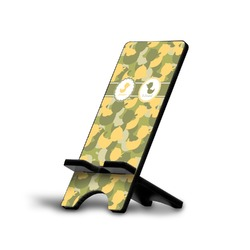 Rubber Duckie Camo Phone Stand (Personalized)